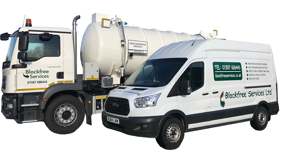 blockfree lorry and van